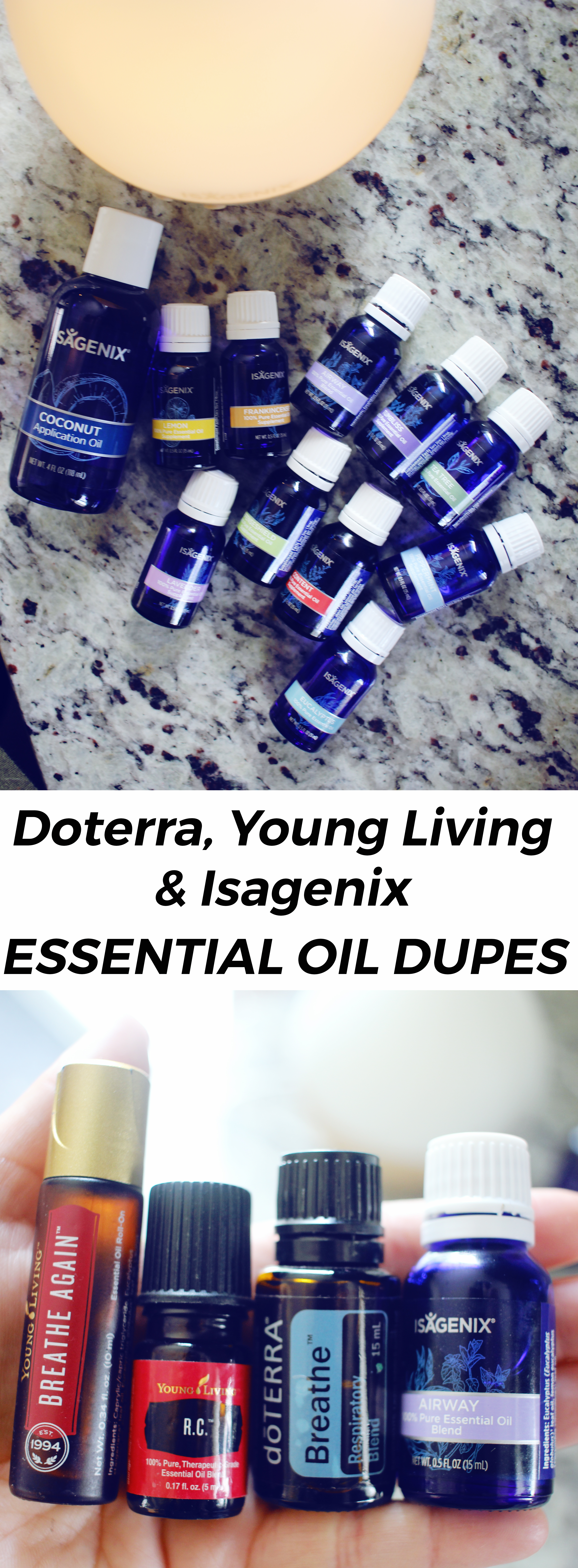 Isagenix Essence Essential Oil Review & Dupes
