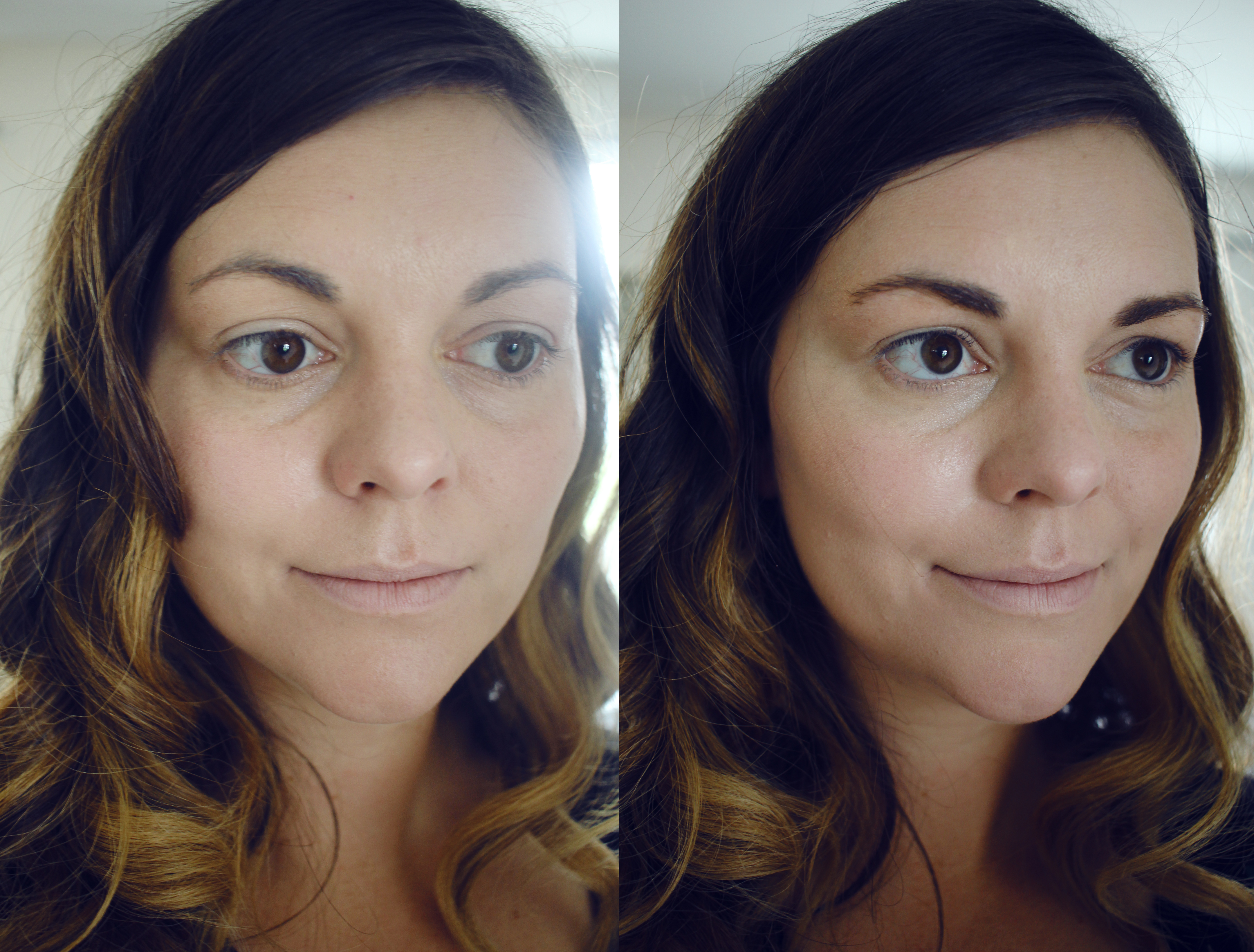 First Aid Beauty Avocado Bendy Concealer before/after