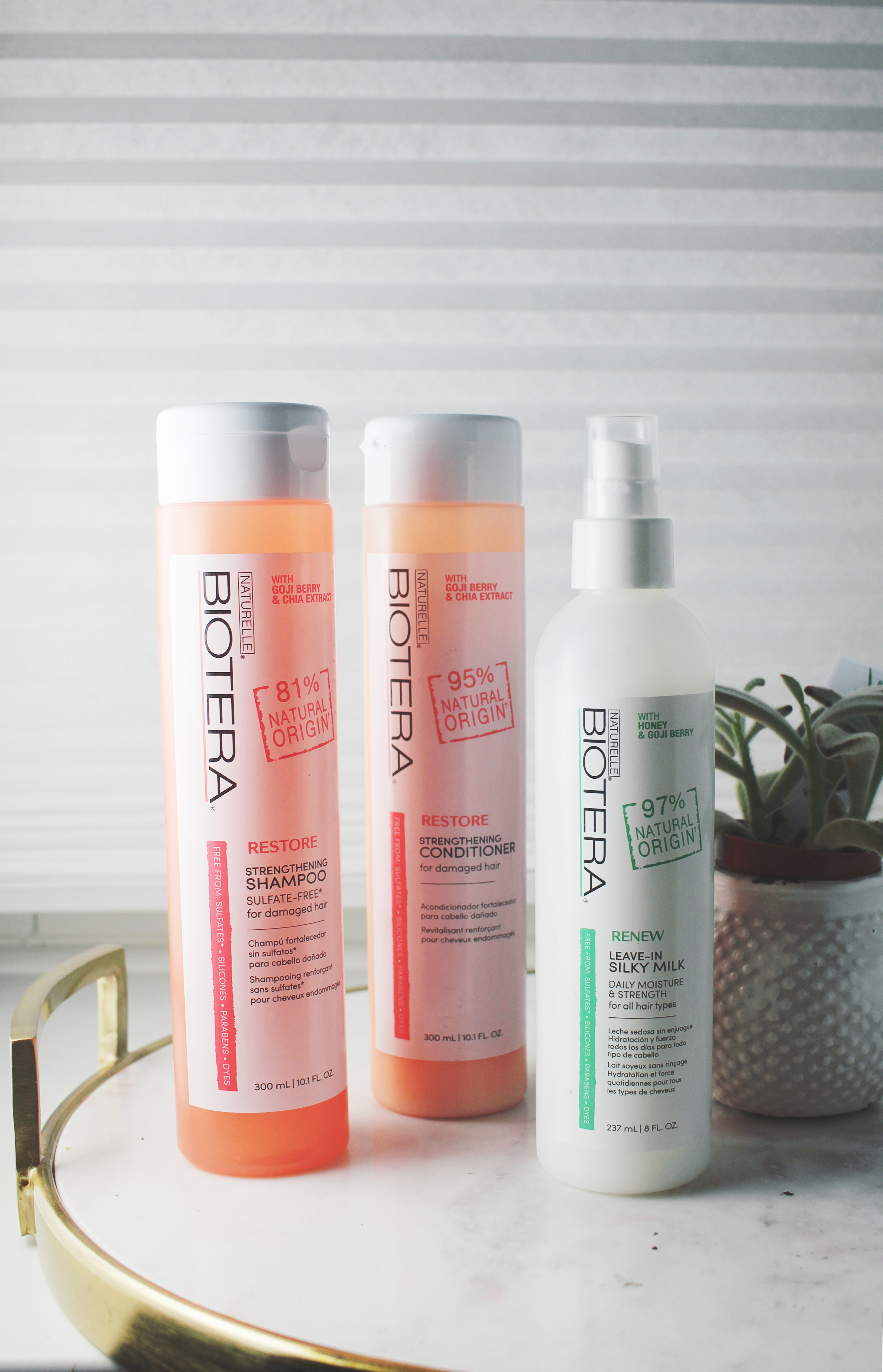 Biotera Natural Haircare Line for Color Treated Hair