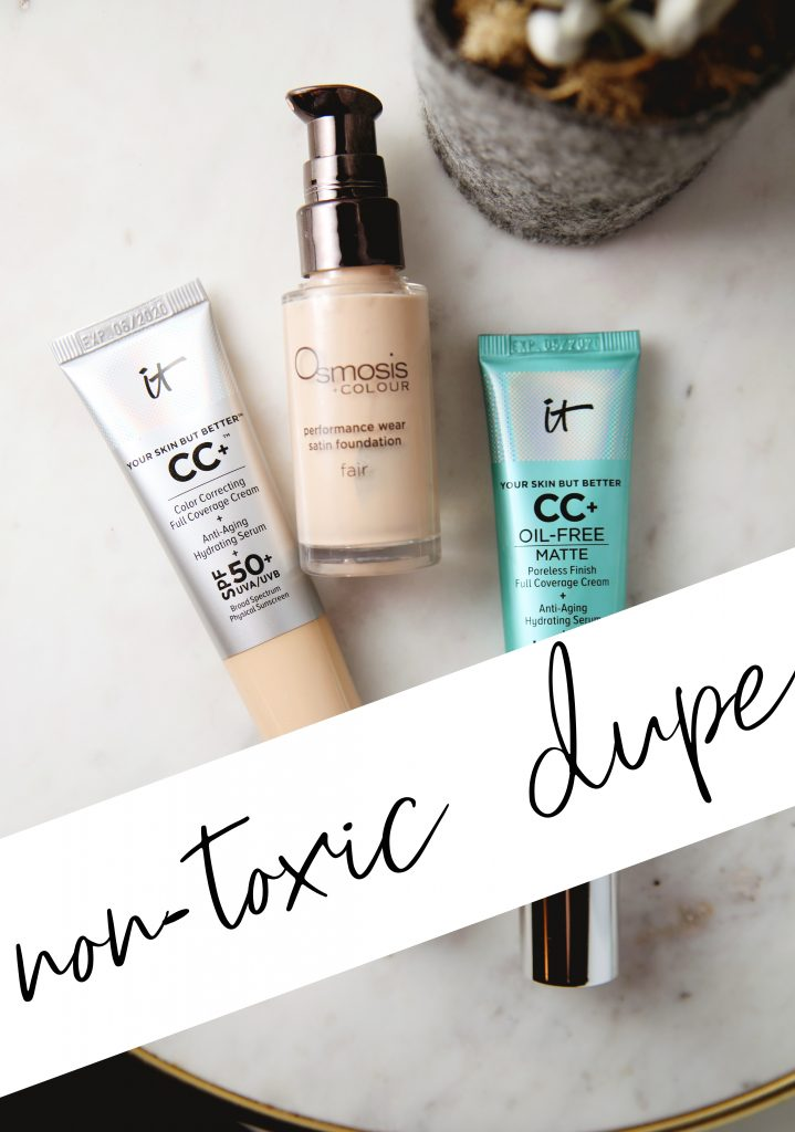non-toxic dupe for It Cosmetics CC Cream