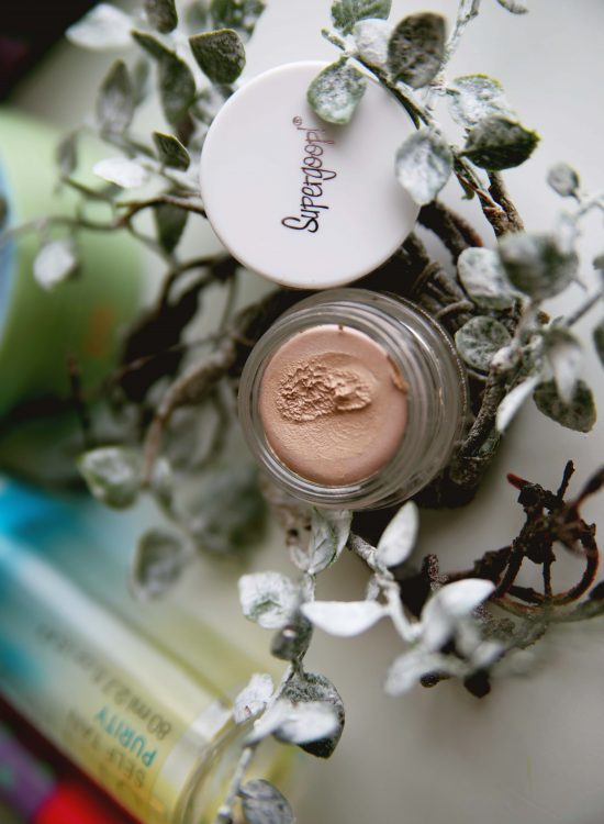 Supergoop SPF Eyeshadow Review in First Light