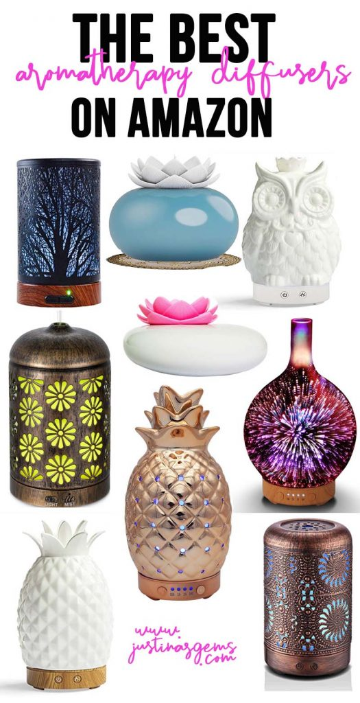 The best aromatherapy diffusers on Amazon