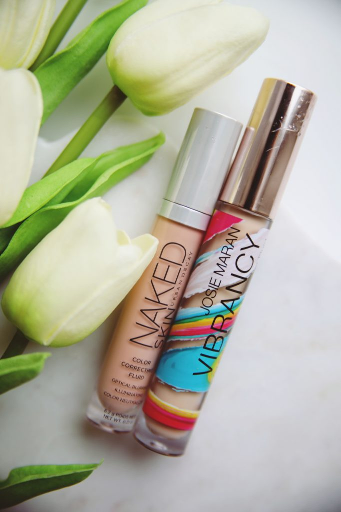 Color correcting concealer duo